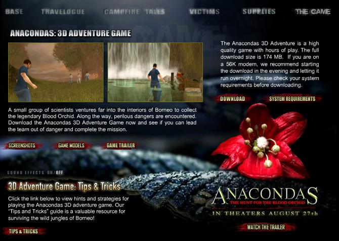 Anacondas 3D Adventure Game Free Download